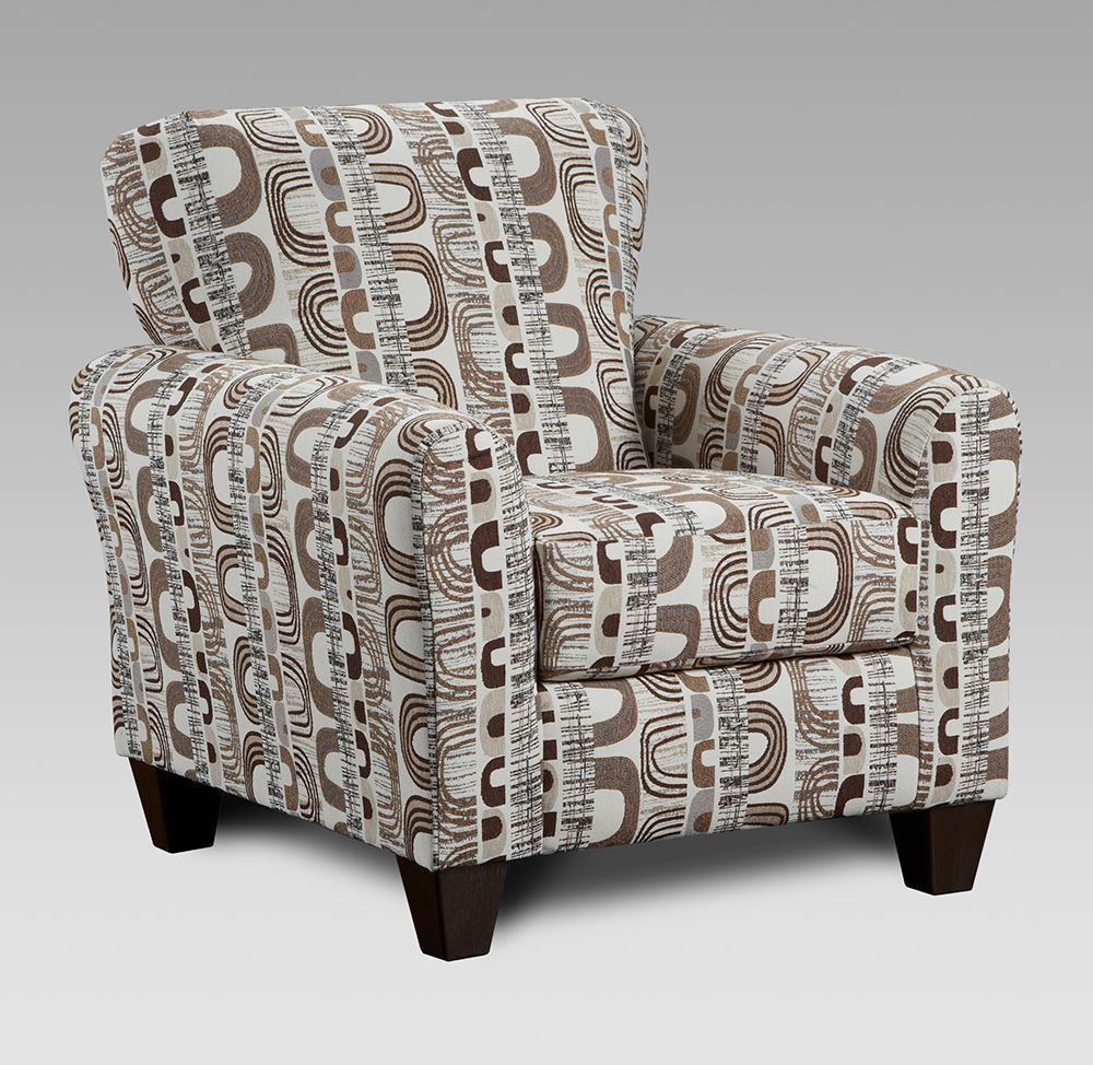 Picture of James Cocoa Accent Chair