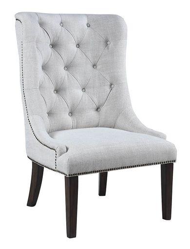 Wendao Sand Linen Accent Chair