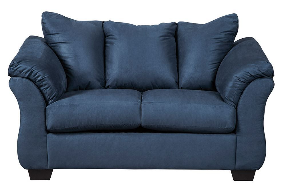 Picture of Darcy Blue Loveseat