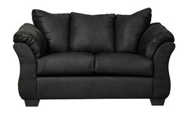 Darcy Black Loveseat
