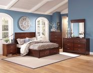 Kensington Queen Storage Bedroom Set