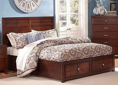 Kenebec Full Storage Bed Set