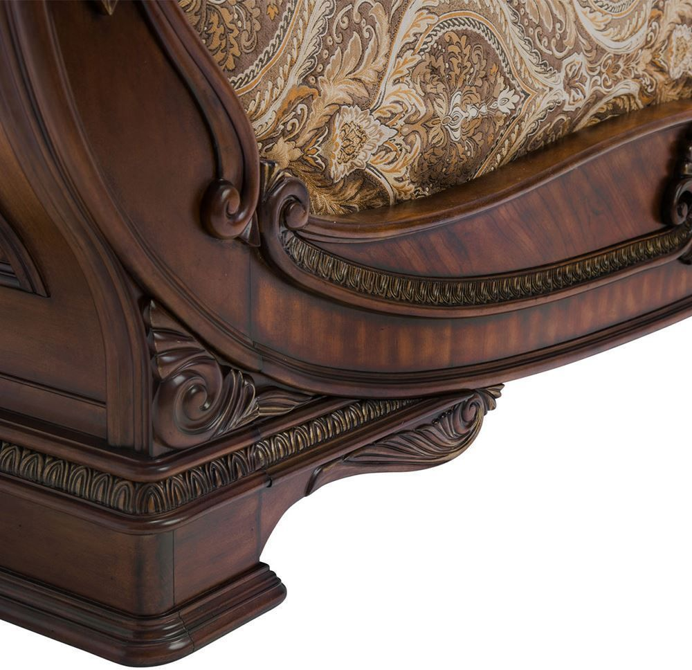 Picture of Bella Veneto Cognac King Sleigh Bed Set
