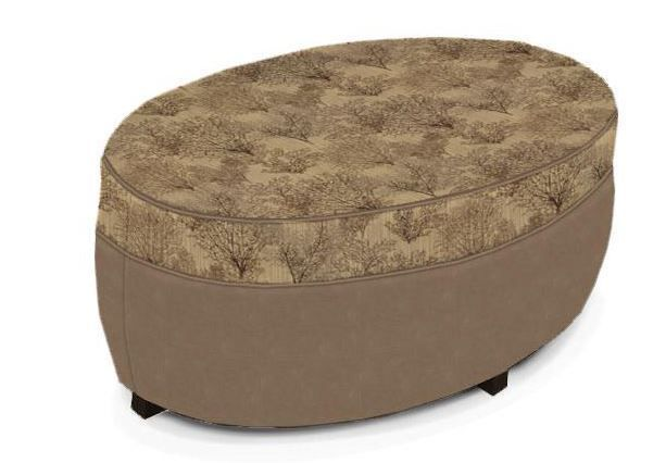 Picture of Pawley Charcoal Storage Ottoman