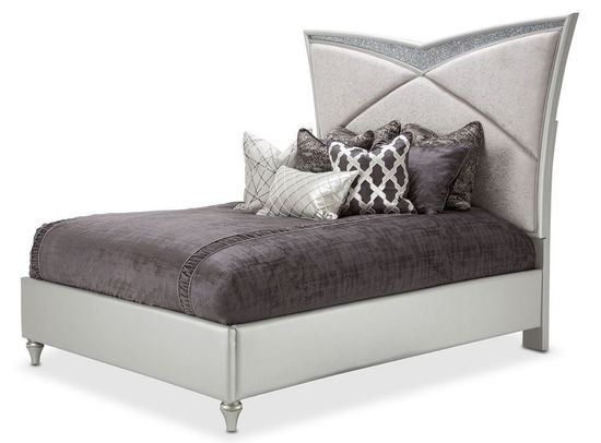 Picture of Melrose Plaza Dove Queen Bed Set