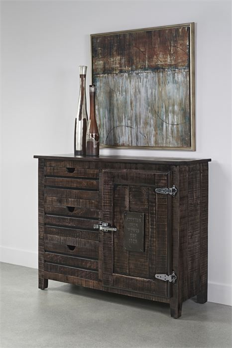 Picture of Three Drawer One Door Cabinet