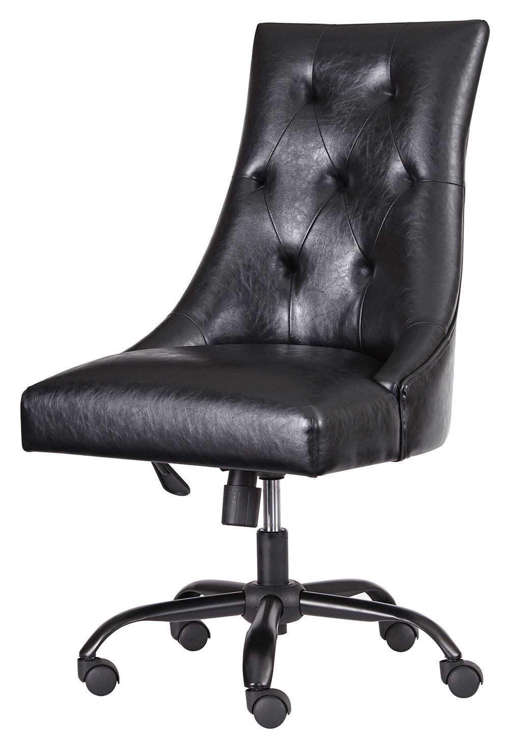 Picture of Black Home Office Swivel Desk Chair