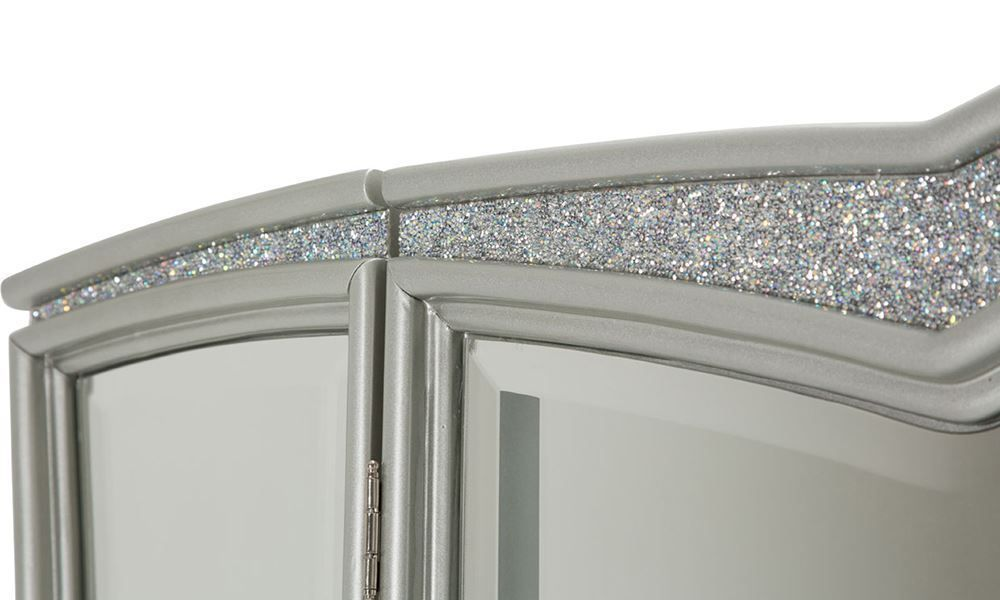 Picture of Melrose Plaza Dove Vanity and Mirror
