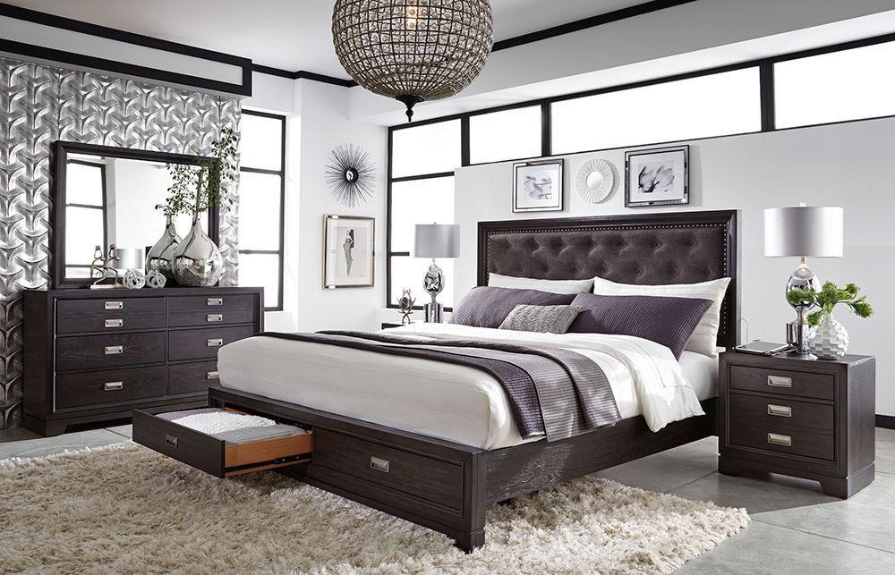 Picture of Fulda Black King Bed Set
