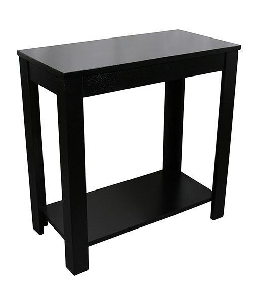 Picture of Pierce Black Chairside Table