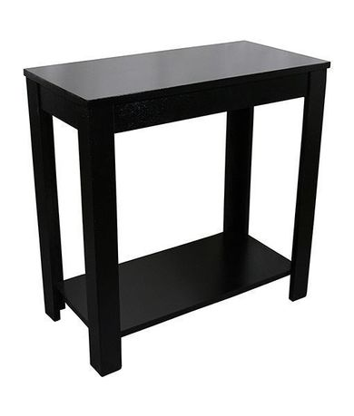 Pierce Black Chairside Table