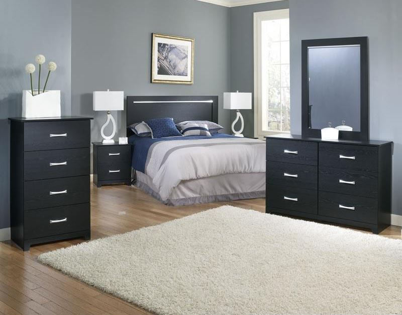 Picture of Crosstown Dresser and Mirror Set