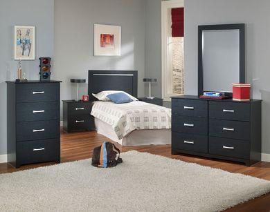 Crosstown Twin Bedroom Set