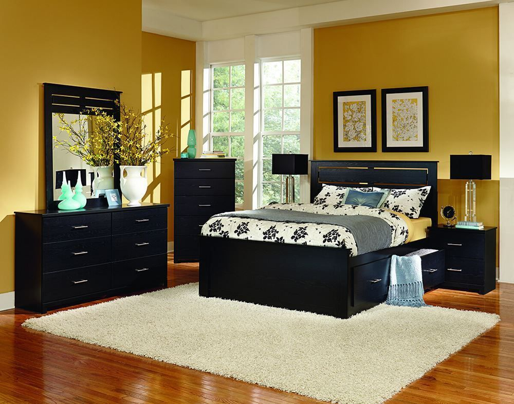 Picture of Silhouette Dresser and Mirror