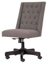 Graphite Home Office Swivel Desk Chair