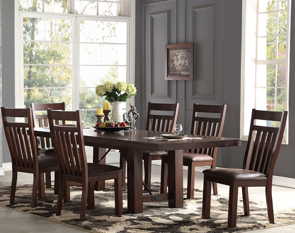 Picture of Audrey Dining Table with Four Side Chairs