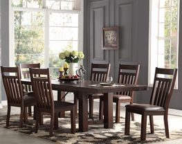 Audrey Dining Table with Four Side Chairs