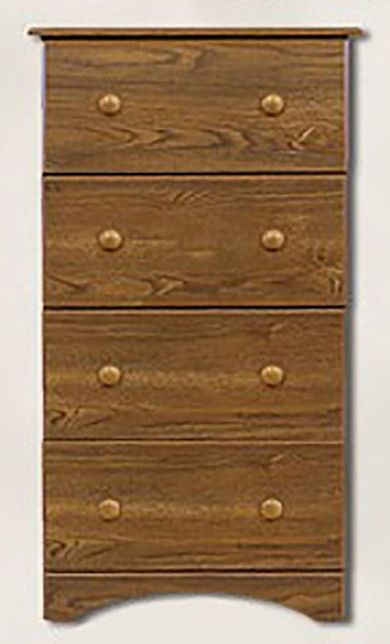 Autumn Oak Four Drawer Chest
