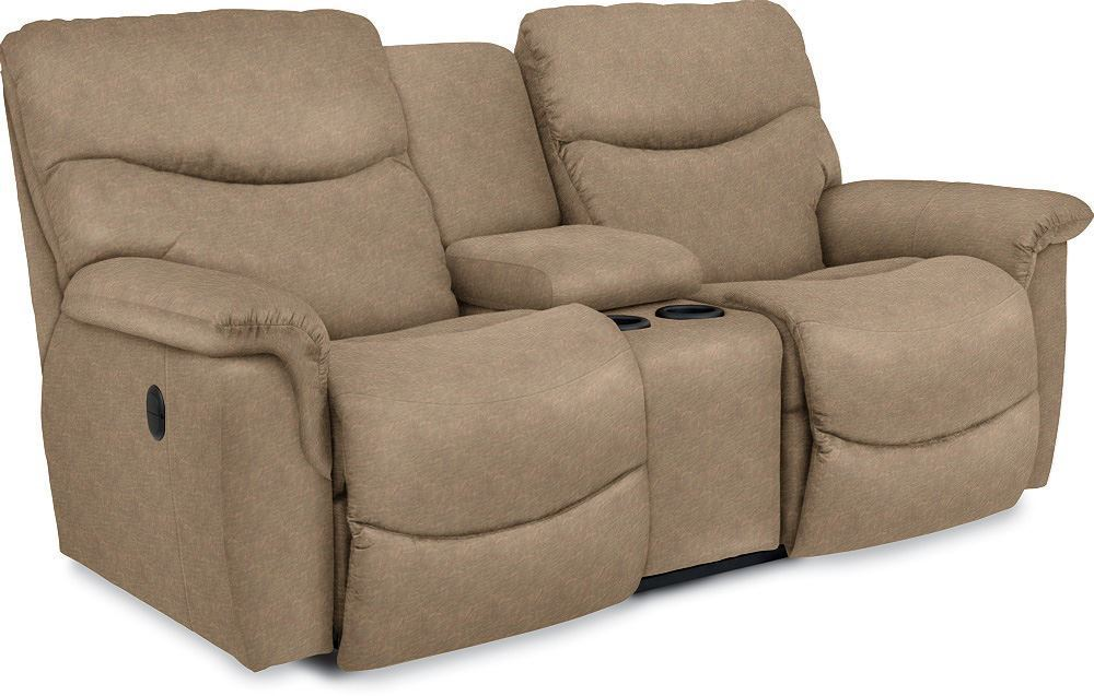 Picture of James Power Reclining Loveseat with Console