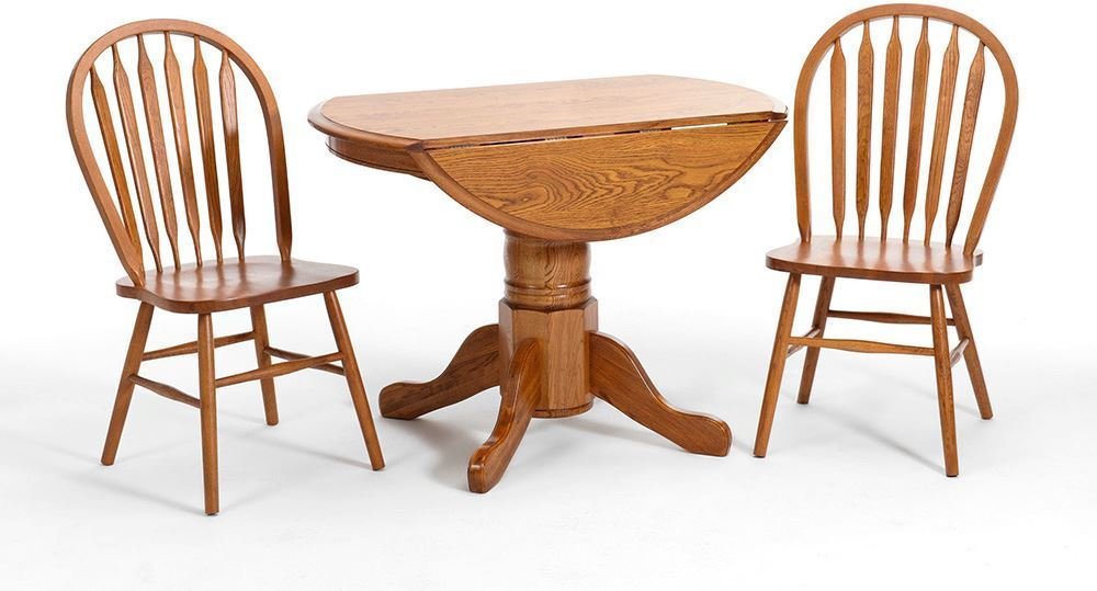 Picture of 42 Inch Drop Leaf Table with Four Side Chairs