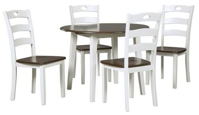 Woodanville Table with Four Chairs