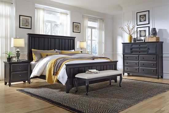 Picture of Lead Queen Bed Set