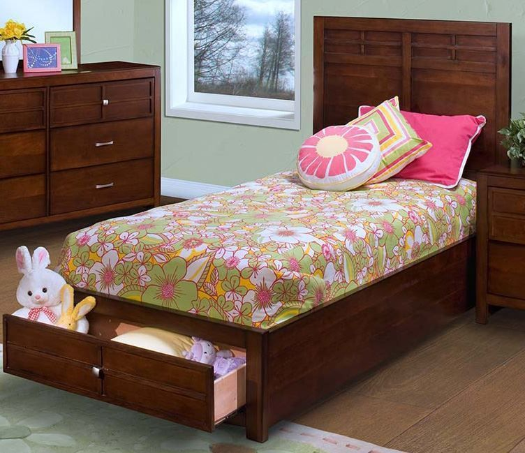 Picture of Kenebec Twin Storage Bed Set