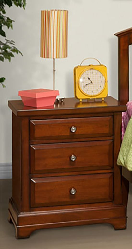 Picture of Seaside Three Drawer Nightstand