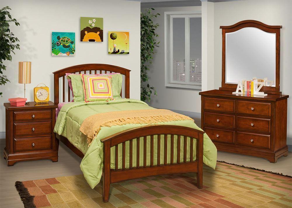 Picture of Seaside Twin Slat Bed Set