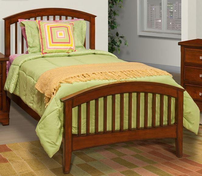 Picture of Seaside Full Slat Bed Set
