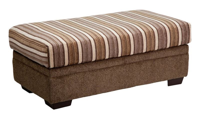 Picture of Cornell Cocoa Ottoman