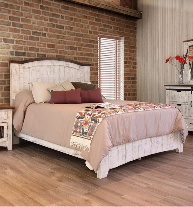 Picture of Pueblo White King Bed Set