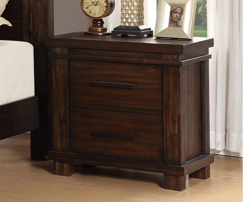 Picture of Easton Square Chocolate Nightstand