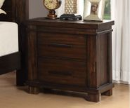 Easton Square Chocolate Nightstand