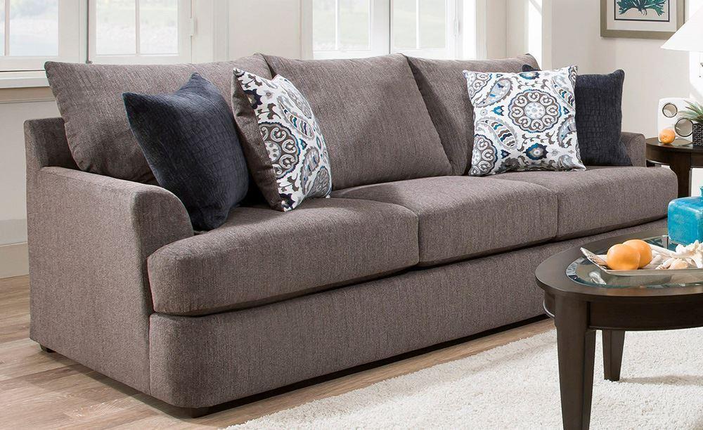 Picture of Grandstand Flannel Sofa