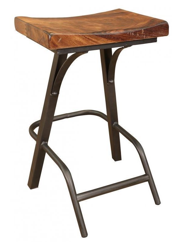 Picture of Parota 24 Inch Barstool