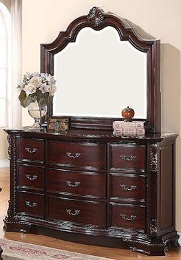 Sheffield Dresser and Mirror