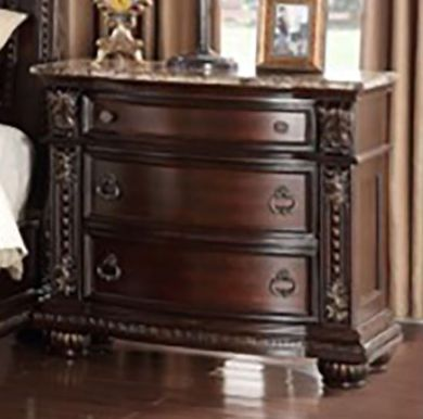 Stanley Three Drawer Nightstand