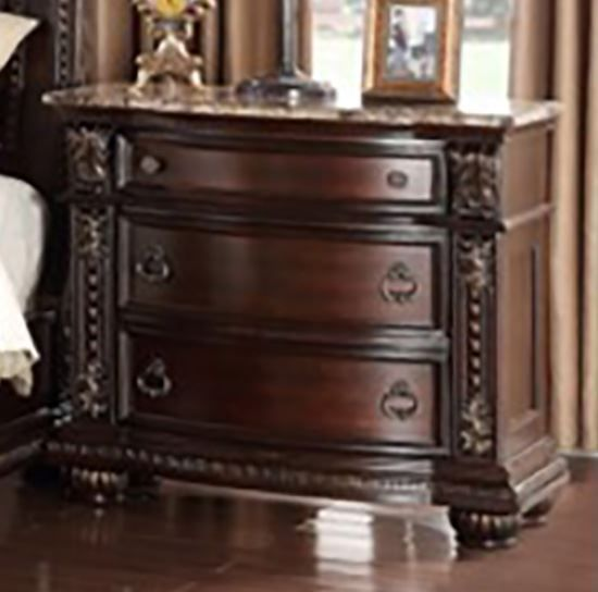 Picture of Stanley Three Drawer Nightstand