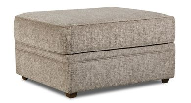 Macy Pewter Cocktail Ottoman