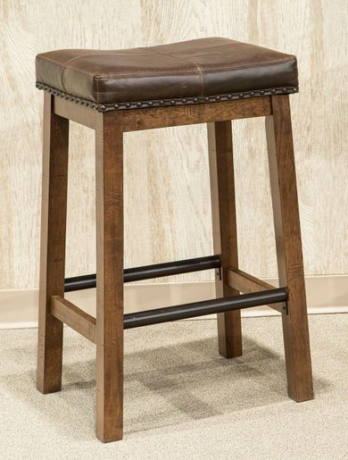 Taos 24 Inch Backless Stool