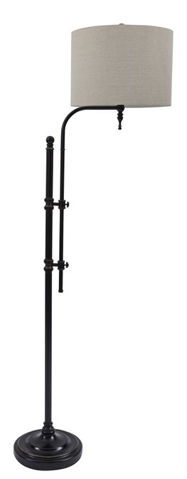 Anemoon Black Floor Lamp