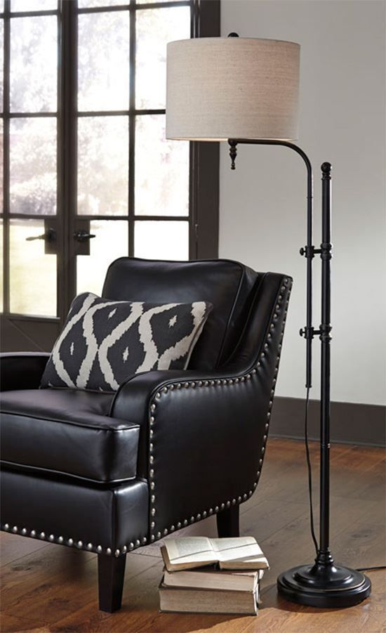 Picture of Anemoon Black Floor Lamp