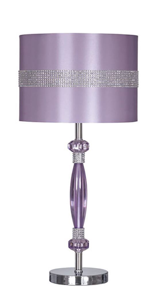 Picture of Nyssa Purple Metal Table Lamp