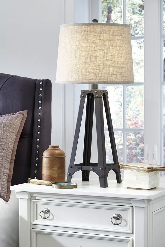 Picture of Satchel Metal Table Lamp