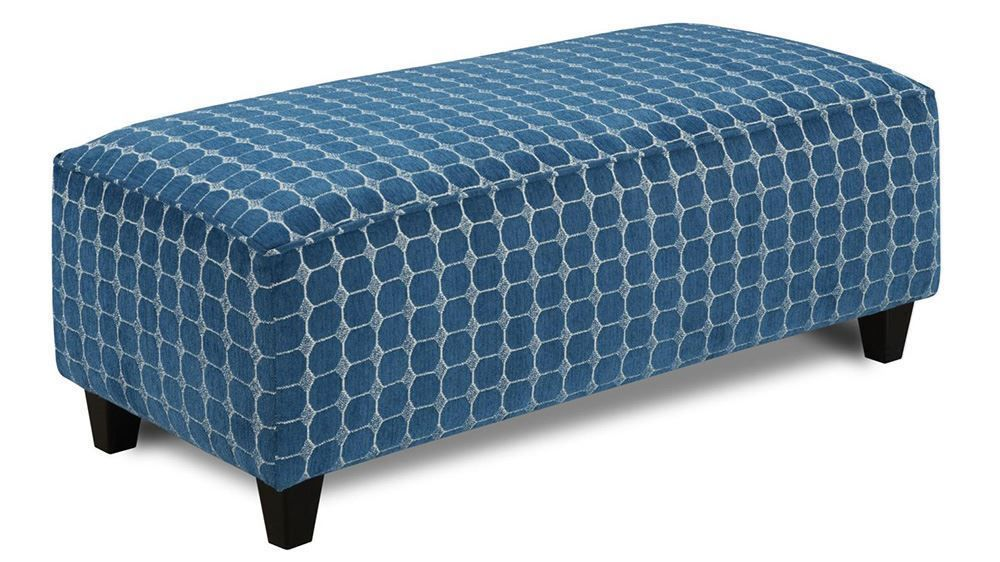 Picture of Louisa Quartz Accent Ottoman