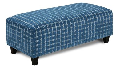 Louisa Quartz Accent Ottoman