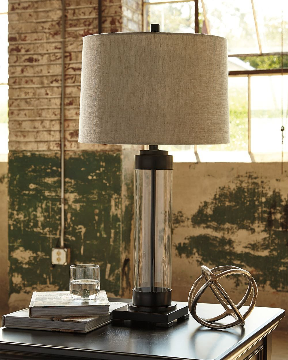 Picture of Talar Glass Table Lamp