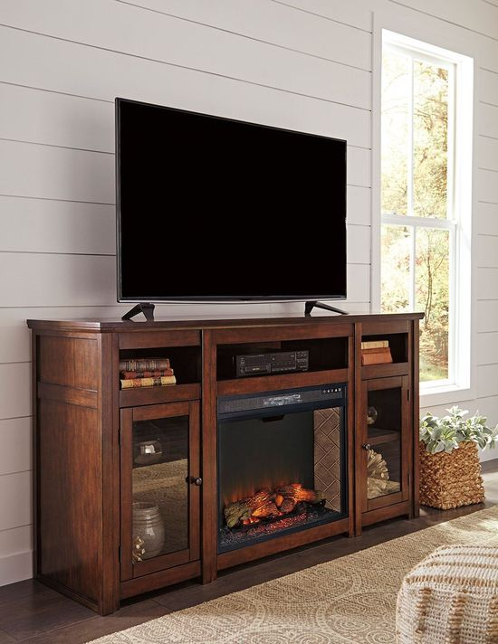 Picture of Harpan 70 Fireplace Television Stand
