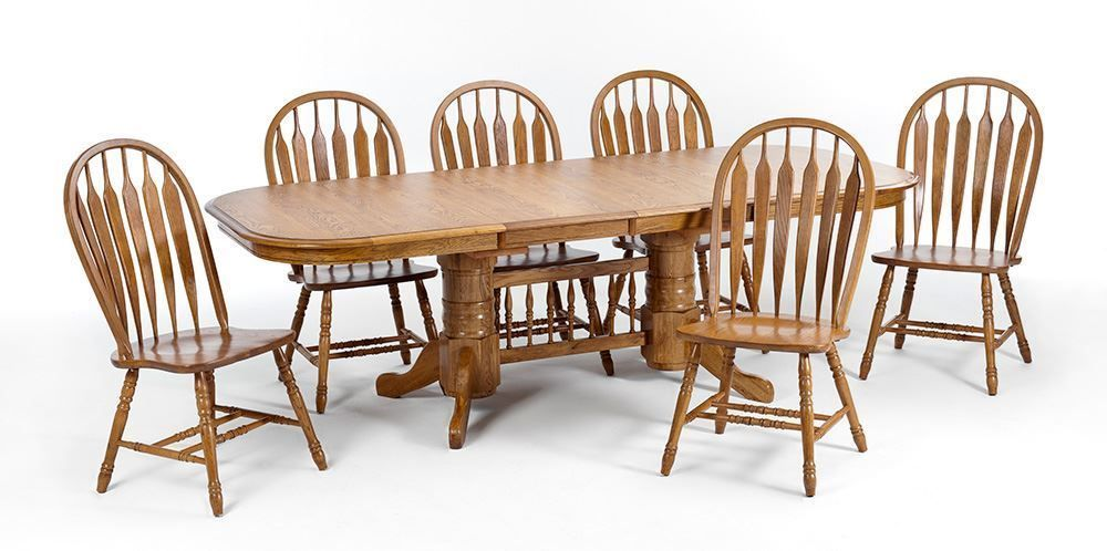 Picture of Laminate 42 Inch Table with Six Chairs